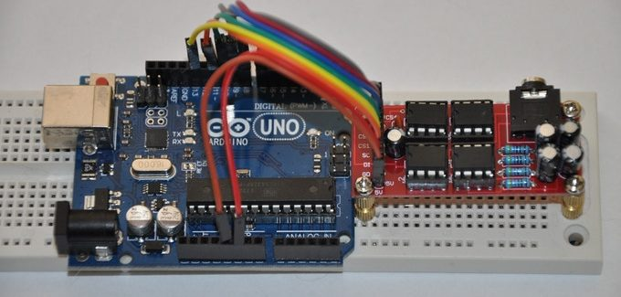 Arduino, Raspberrry PI, or any SPI enabled device: Speak Now!